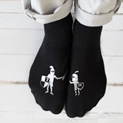Solesmith Personalised Knight In Shining Armour Socks