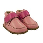 Cheeky Little Soles Pink toddler anklet winter boots