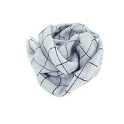 Oon Pure linen scarf check (various colours)