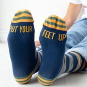 Solesmith Put Your Feet Up Patterned Socks