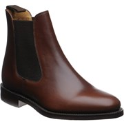 Loake Blenheim rubber-soled Chelsea boots Brown Waxy
