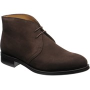 Herring Canterbury rubber-soled Chukka boots Brown Suede