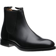 Loake Chatsworth rubber-soled Chelsea boots Black Calf