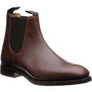 Loake Chatsworth rubber-soled Chelsea boots Brown Waxy Calf
