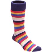 Herring Cuthbert Sock Red Multi
