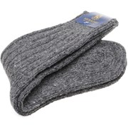 Herring Donegal Wool Sock Grey