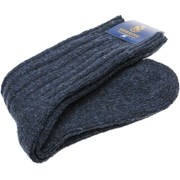 Herring Donegal Wool Sock Navy