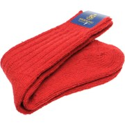 Herring Donegal Wool Sock Red