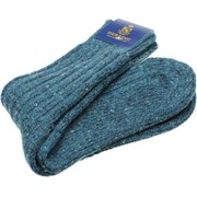 Herring Donegal Wool Sock Teal
