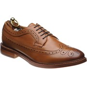 Herring Longford rubber-soled brogues Cognac Calf