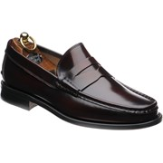 Herring Lucca rubber-soled loafers Burgundy Polished