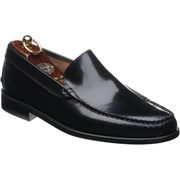 Herring Pisa rubber-soled loafers Black Polished