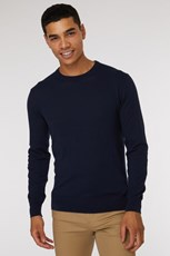 Jack London Blue Crew Neck Knit