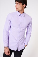 Jack London Lilac Button Down LS Shirt