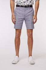 Jack London Linen Check Short