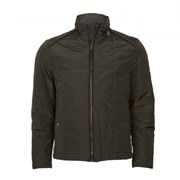 Jeff Banks SQUARE QUILTED BIKER JACKET 8097