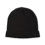 Jeff Banks ZIG ZAG PATTERN KNIT BEANIE 8735