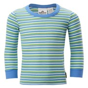 Kathmandu PolyPRO Kids' Long Sleeve Top Timothy/Dusty Blue/Aqua