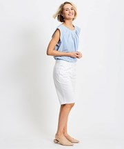 Katies Bermuda Short WHITE