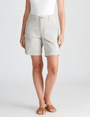 Katies Casual Canvas Short GREY