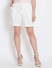 Katies Linen Short WHITE