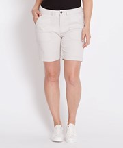 Katies Plain Casual Short STONE