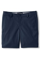 Lands' End Girls Active Chino Shorts Classic Navy