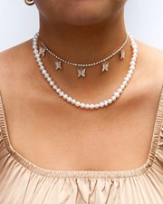 Lovisa Freshwater Pearl Short Necklace