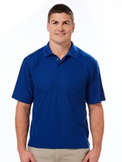 Lowes Plain Polo Top With Pocket Cobalt