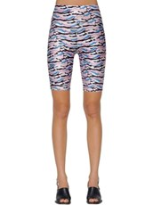 AALTO Printed Stretch Jersey Shorts MULTICOLOR