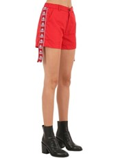 CHARM'S Kappa Track Shorts RED