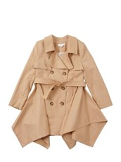 CHLOE Cotton Gabardine Trench Coat BEIGE