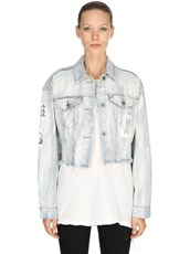 KSUBI Daggerz Jacket Broadcast Denim Jacket BLUE