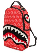 SPRAYGROUND Lvr Edition Large Logo Printed Backpack RED