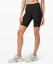 "Lululemon Fast and Free High-Rise Short 8"" black"