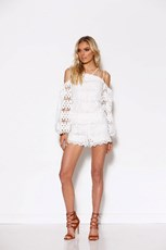 Ministry Of Style By Bebe Sydney LACE UP BLOUSE