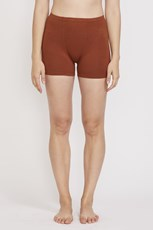 Pansy Stretch Shorts Rust