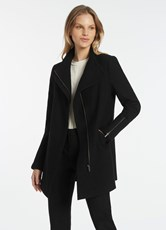 Marcs ROSE FELTED WOOL COAT BLACK