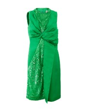 Emilio Pucci Sequined Cocktail Dress GREEN