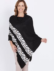 Millers Animal Poncho BLACK