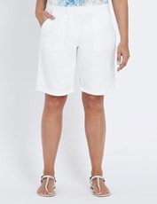 Millers Drill Shorts WHITE