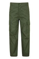 Mountain Warehouse Active Kids Trousers Khaki