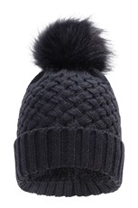 Mountain Warehouse Lisbon Womens Pom-Pom Beanie Navy