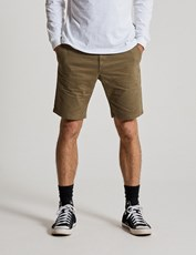 Mr Simple chino shorts - army 4115954303060