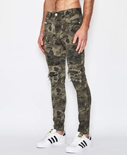 Nena & Pasadena Combination Biker Jeans Airwolf Camo