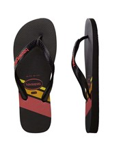Havaianas Trend Thongs Black/Black/Ruby Red