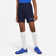 Nike Dri-FIT Academy Older Kids' Knit Football Shorts Obsidian/White/White/White