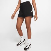 Nike Sportswear Essential Women's French Terry Shorts Black/White