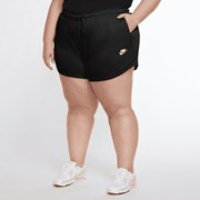 Nike Sportswear Women's Shorts (Plus Size) Black/White