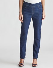NONI B LOREN PULL ON JEAN REG DARK DENIM